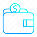 cash, financial, savings, wallet icon
