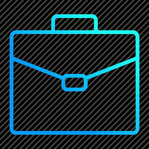 briefcase, case, financial, portfolio, work icon