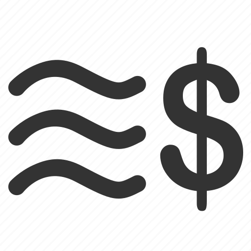 cash, cash flow, currency, finance, financial, money, stamp icon