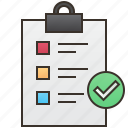 checklist, detail, document, form, survey icon