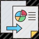 backup, copy, data, duplicate, transfer icon