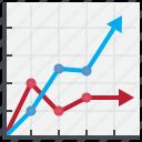 chart, report, line, graph, analysis