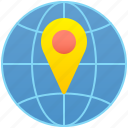 location, map, network, place, position icon