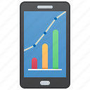application, mobile, analysis, forecast, assistant icon