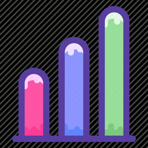 analytics, chart, growth, sales, stats icon