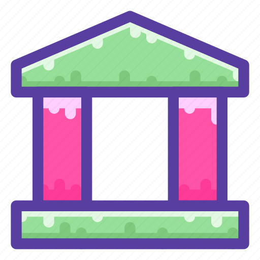 Bank, building, finance, financial icon - Download on Iconfinder