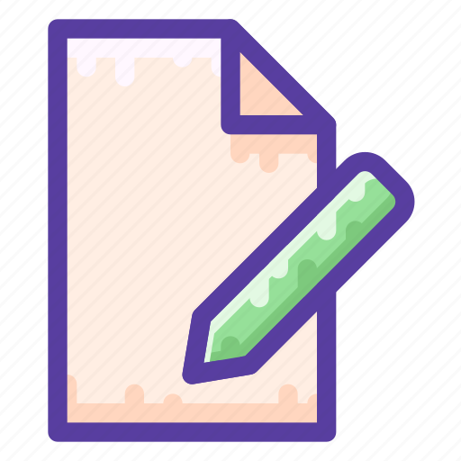 Contract, document, paper, sign icon - Download on Iconfinder