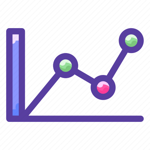 analysis, chart, graph, report icon
