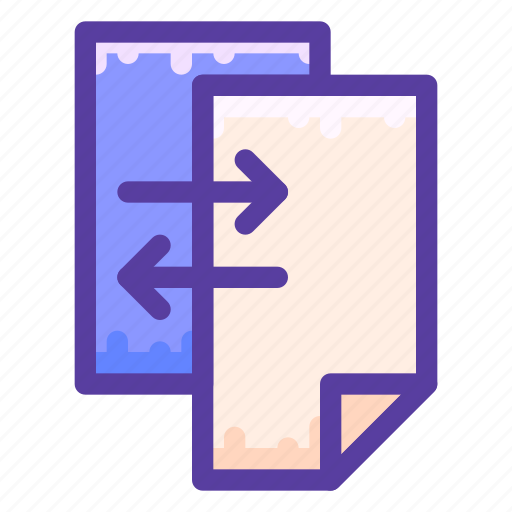 Data, document, paper, transfer icon - Download on Iconfinder