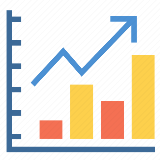 business, chart, data, finance, graph, increase, statistics icon
