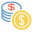 cash, dollar, finance, financial, money, pay, payment icon