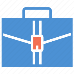 bag, briefcase, business bag, case, office bag, portfolio, travel icon
