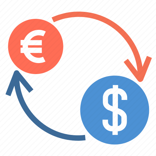 charge, currency, cycle, dollar, euro, financial, money icon