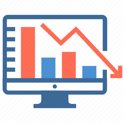 business, chart, computer, finance, graph, increase, statistics icon