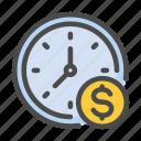 clock, finance, business, money, time, deadline