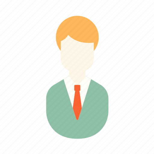 employee, financial, gentleman, investors, man, office icon