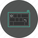 keyboard, text, typing, writing icon