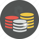 buy, cash, coins, currency, ecommerce, finance, financial, money, payment, price, sale icon