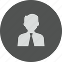 account, avatar, customer, human, male, man, people, person, profile, user, users icon