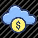 cloud banking, cloud computing, cloud technology, ebanking, online banking icon
