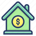home loan, home sale, house loan, mortgage, real estate icon