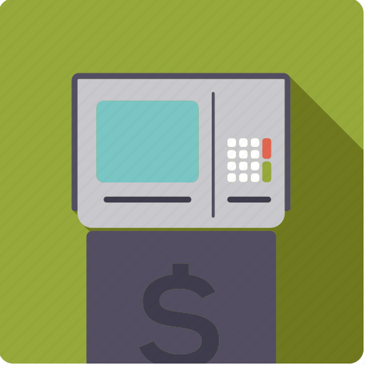 atm, bank, cash, finance, machine, money, transaction icon