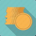 cash, coin stack, coins, finance, golden, money, stack