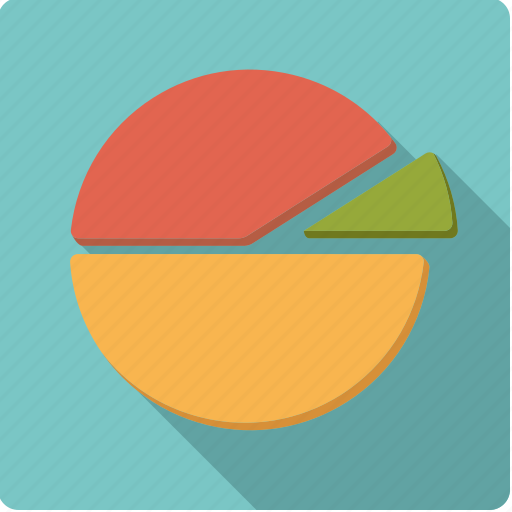 accounting, graph, pie chart, share, statistics icon