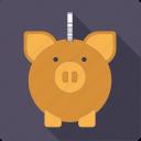 cash, coin, finance, money, piggy bank, savings
