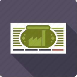 certificate, company, document, finance, investment, share, stock exchange icon
