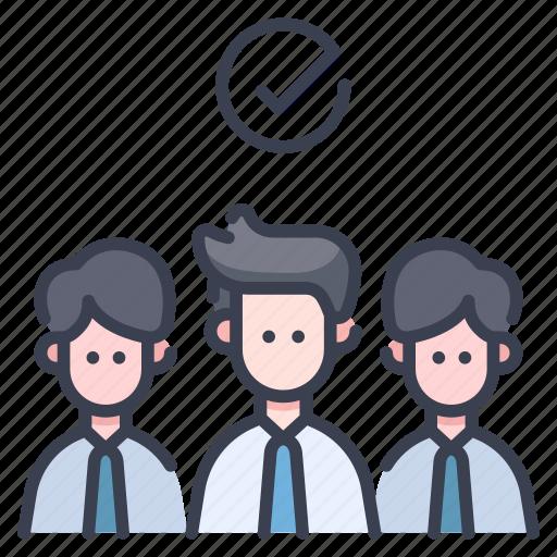 business, choice, employment, human, job, recruitment, selection icon