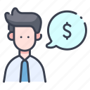 business, cash, finance, income, payment, profit, salary icon