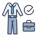 business, businessman, interview, job, office, outfit, suit icon