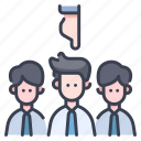 employee, employment, hiring, job, recruitment, select, worker icon