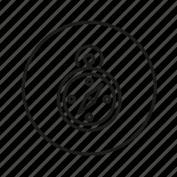 compass, location, pin, way icon
