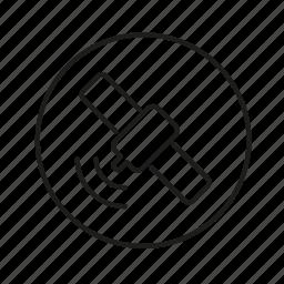 location, radar, space, way icon