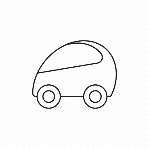 automobile, car, compact car, micro car, traffic, transportation, vehicle icon
