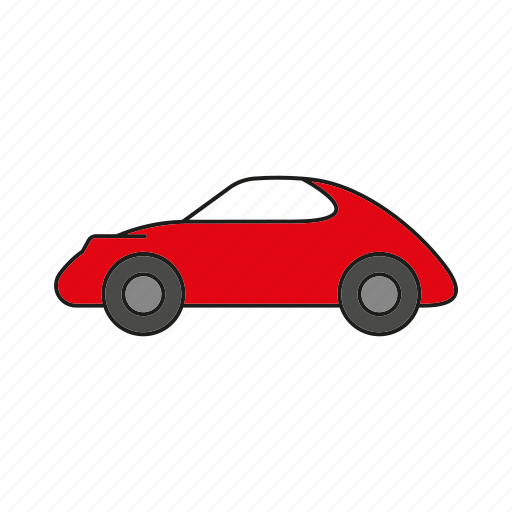 automobile, car, speed, sports car, traffic, transportation, vehicle icon