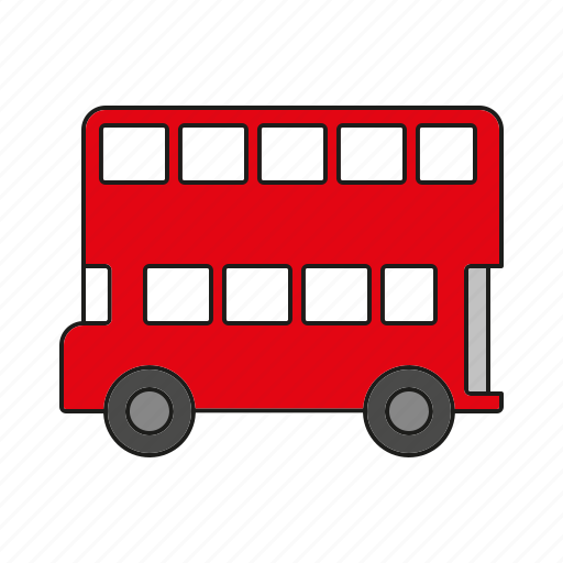 automobile, bus, london, traffic, transportation, van, vehicle icon