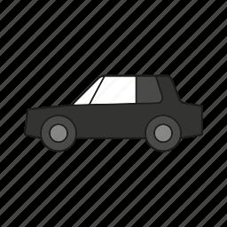 automobile, car, limousine, sedan, traffic, transportation, vehicle icon
