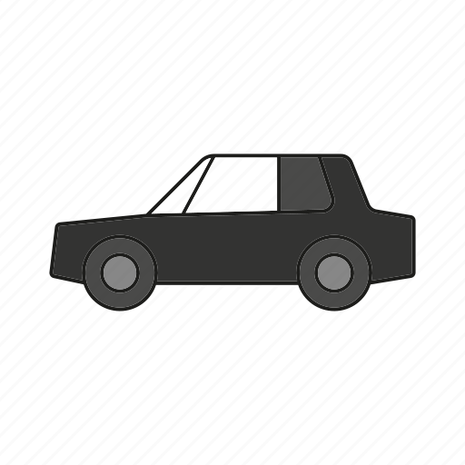 automobile, car, limousine, sedan, traffic, transportation, vehicle icon
