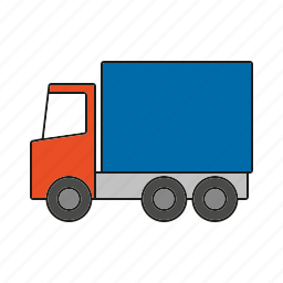 automobile, lorry, traffic, transportation, truck, vehicle icon
