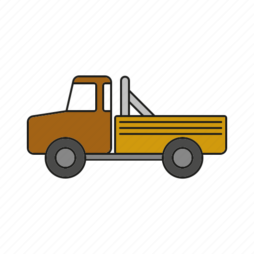 automobile, pickup, traffic, transportation, truck, vehicle icon