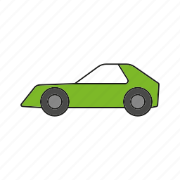 automobile, car, coupe, sports car, traffic, transportation, vehicle icon