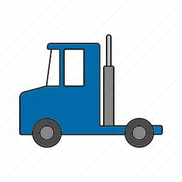automobile, traffic, trailer, transportation, truck, vehicle icon