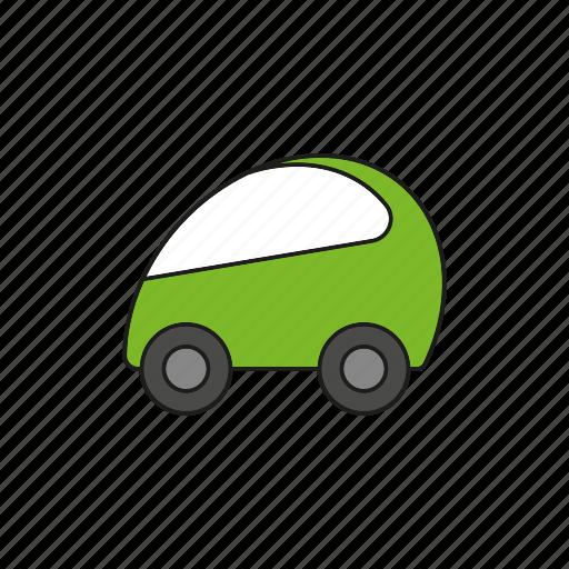 automobile, car, compact, micro car, traffic, transportation, vehicle icon