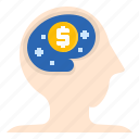 finance, idea, investment, money, profitability, smart icon