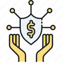 guarantee, guard, insurance, protection, shield, warranty icon