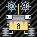 advisor, robo, robo advisor icon