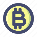 bitcoin, cryptocurrency, currency, minning icon